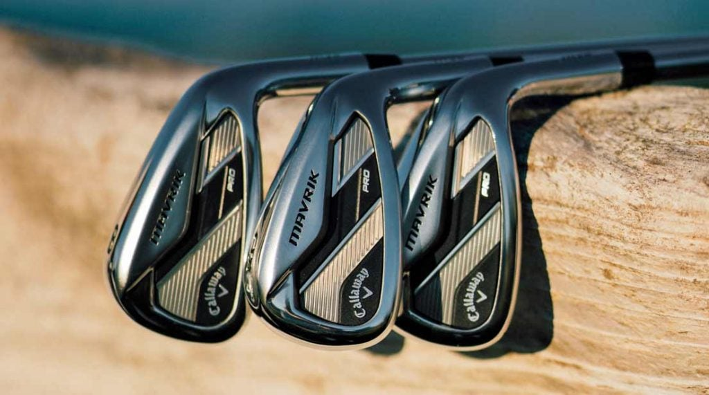 A look at Callaway's new Mavrik irons.