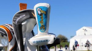 Custom gear at the Waste Management Phoenix Open.