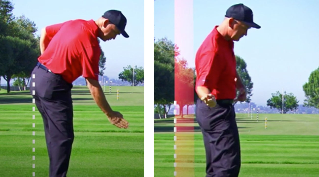 Early extension is any movement of your hips toward the ball in your downswing.
