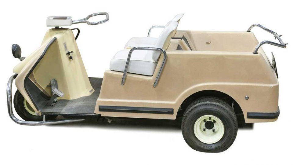 Elvis Presley Golf Cart
