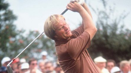 Jack Nicklaus' head position served as the centerpiece of one of golf's all-time great swings.