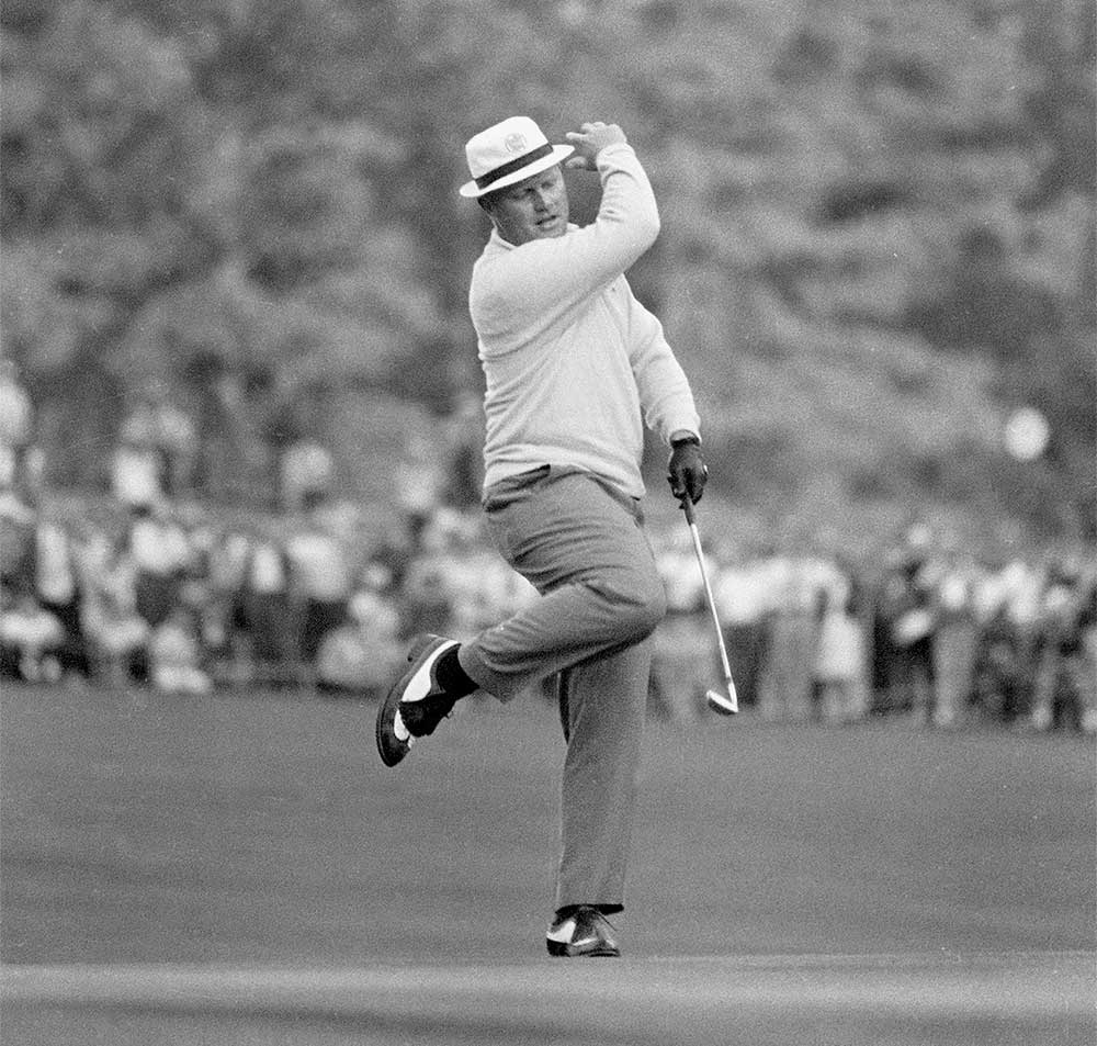 Jack Nicklaus won the Masters a record six times.