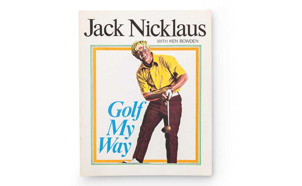 Jack Nicklaus' Golf My Way is still a popular golf buy among fans and aspiring players.