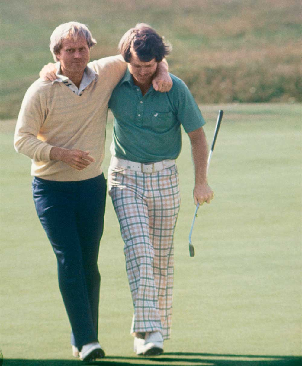 Jack Nicklaus and Tom Watson's epic 1977 Open Championship battle will forever be known as the Duel in the Sun.