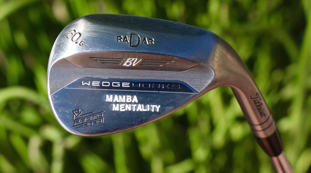 Justin Thomas' wedge at the Waste Management Phoenix Open.
