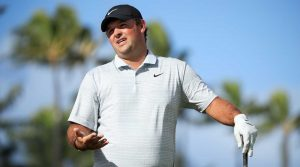 Patrick Reed plays a practice round prior to the 2020 Sony Open.