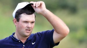 Patrick Reed at the Sentry Tournament of Champions.
