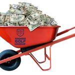 The Premier Golf League promises hefty paydays.