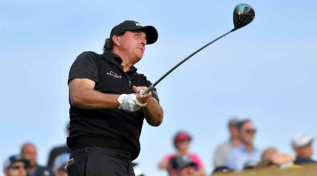 Phil Mickelson shot a 60 in the first round of last year's American Express.