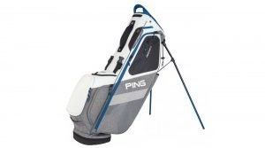 The Ping Hoofer 14 golf bag.