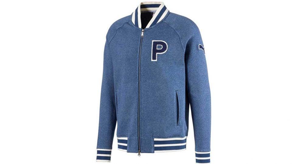 Puma Golf's Varsity Fleece Jacket.