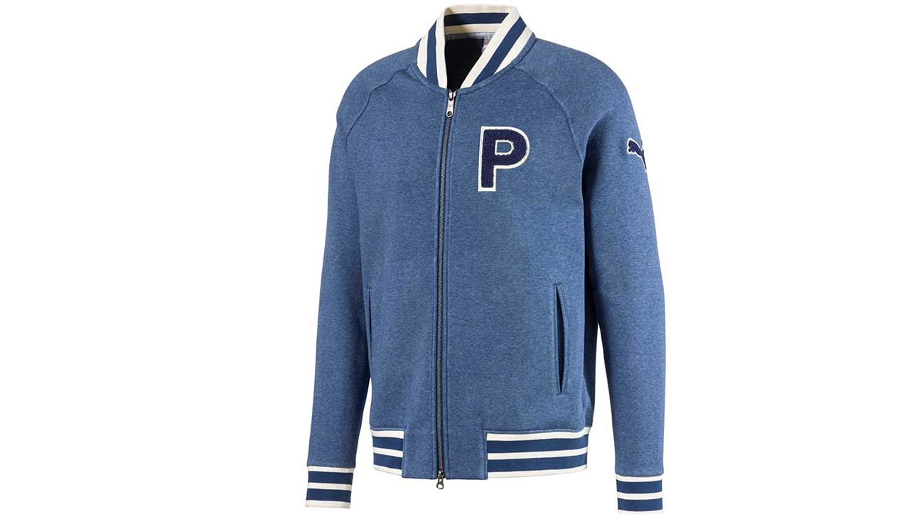 Puma Golf's Varsity Fleece Jacket.