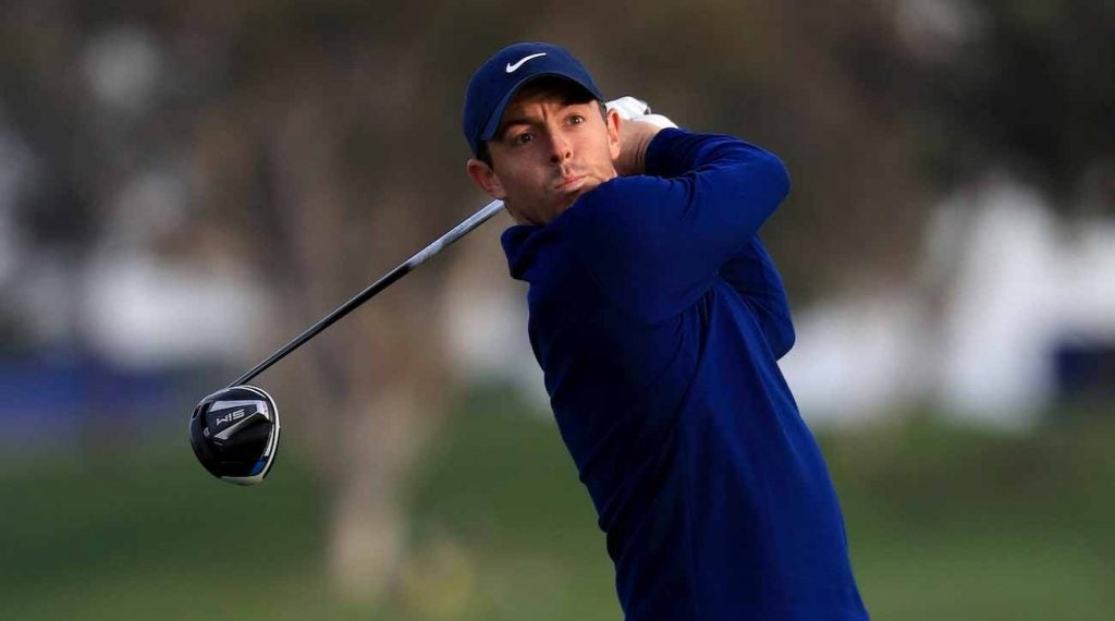 "Rory McIlroy is using the ""Jason Day"" driver build this week"