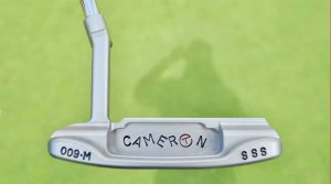 The Circle T stamp in the cavity pushes the price of this putter into the four-figure range
