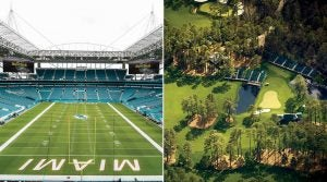 Hard Rock Stadium, this year's Super Bowl host, stole a page from Augusta National's playbook