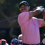 Tiger Woods pictured during the 2019 Farmers Insurance Open at Torrey Pines.