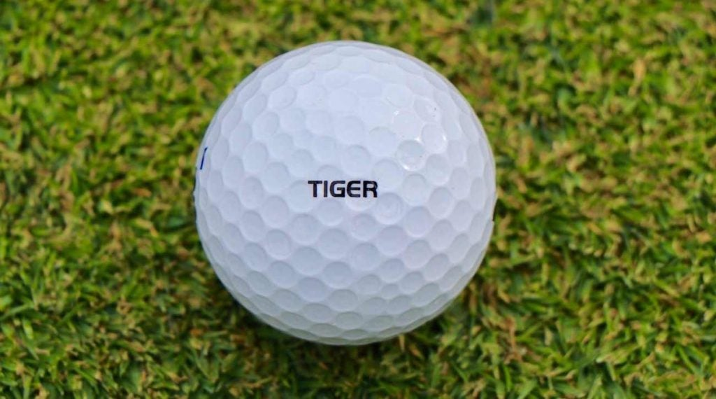 Tiger Woods put Bridgestone's Tour B XS ball through numerous rounds of prototype testing.