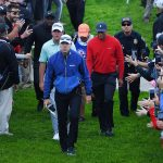 Tiger Woods shot a final-round 70 on Sunday at the Farmers Insurance Open.