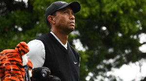 Tiger Woods pictured during the 2019 Zozo Championship in japan