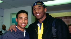 Kobe Bryant and Tiger Woods in 1997.