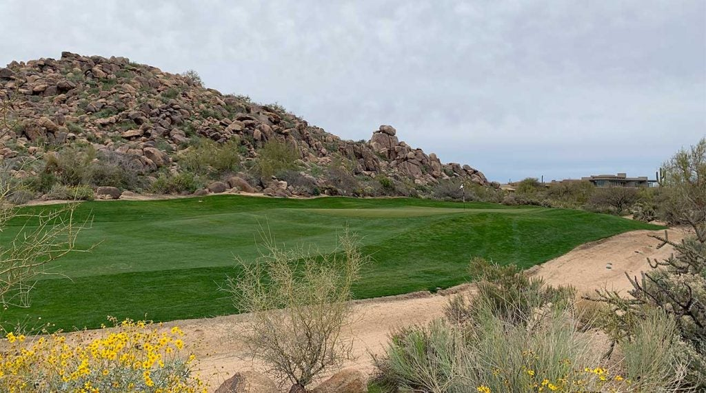 Troon North's Pinnacle Course in Scottsdale, Arizona.