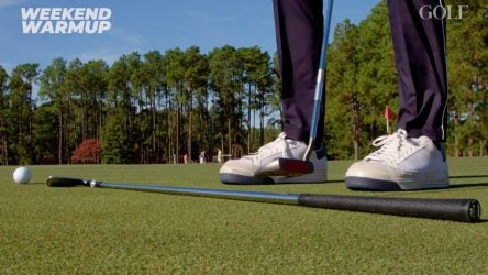 Always feel confident in your putting stroke walking to the first tee with these three drills.