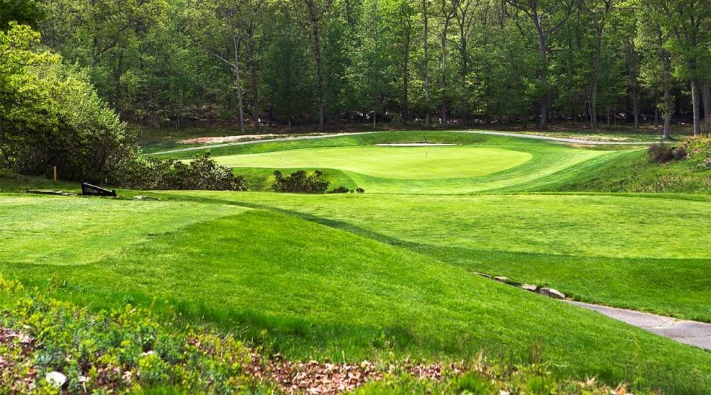 A view of Yale University Golf Course in New Haven, Conn.