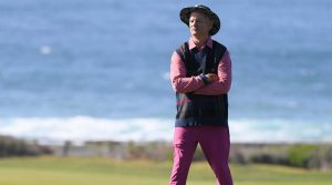 Bill Murray's unique sense of style really stood out at Pebble Beach.