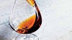 Brandy in a glass