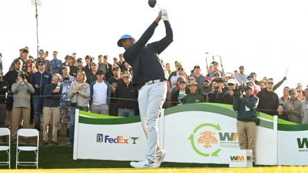 Tony Finau's understated, and sophisticated, outfit during the second round of the Waste Management Phoenix Open was our obsession this week.