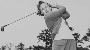 Mickey Wright won 90 times as a professional, in a truncated playing career no less.