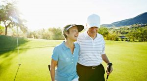 Seniors who play golf may avoid early death at a better rate than those who don't play.
