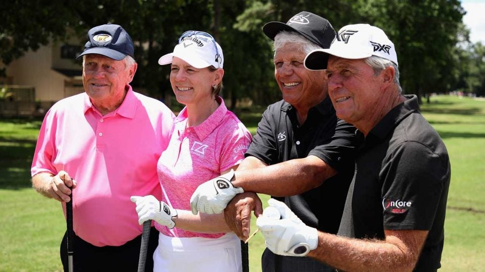 Jack Nicklaus and Annika Sorenstam are two of the big names behind the newly formed Doubles Golf.