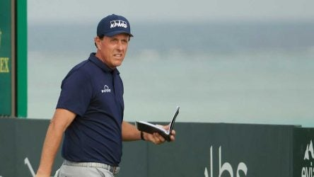 Phil Mickelson will turn 50 later this year.