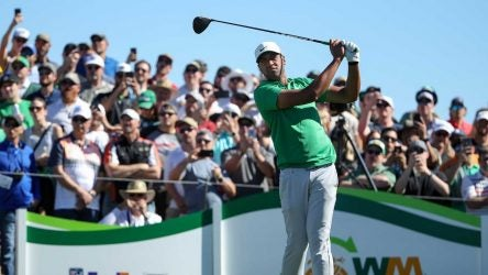 Tony Finau has tamed TPC Scottsdale thus far, reaching 16 under through 54 holes.