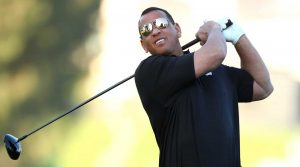 Alex Rodriguez's golf skill is pretty raw, but he may have a future as a celebrity golfer.