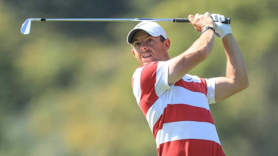 Rory McIlroy followed up a first round 68 with a 67 Friday.