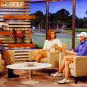 An interior view of Golf Channel's Studio AP in Orlando