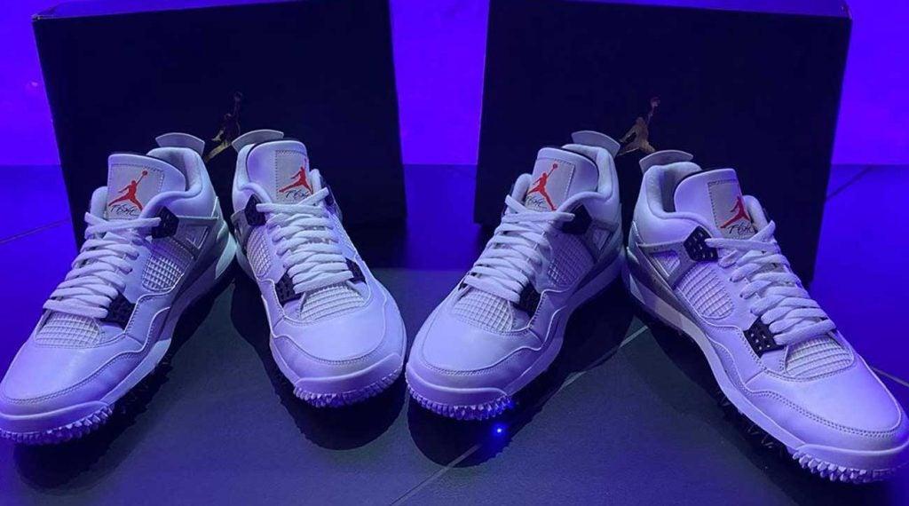 Air Jordan 5 golf shoes