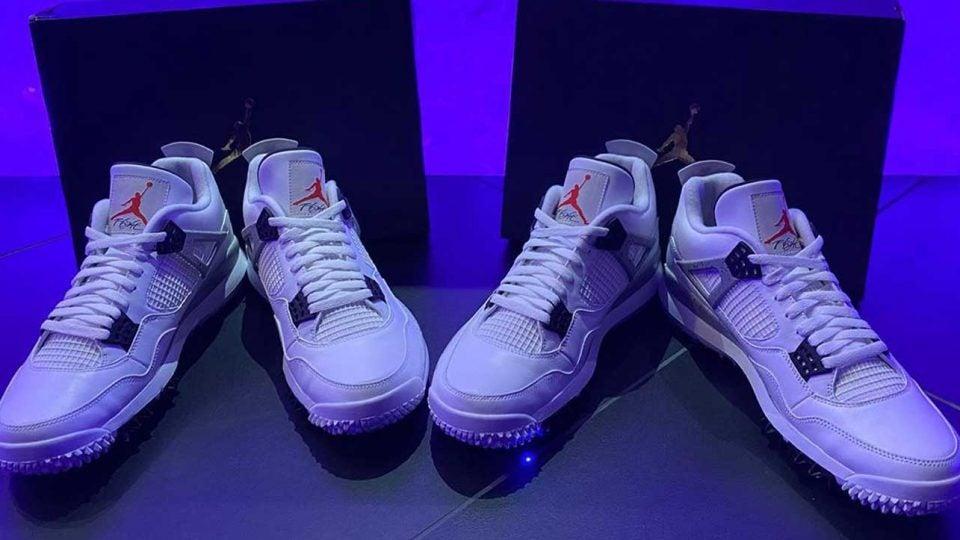 Unreleased Air Jordan 4, Air Jordan 5 golf shoes revealed by Pat Perez