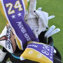 TaylorMade staffers are honoring Bryant and the other victims who were on the helicopter with special headcovers.
