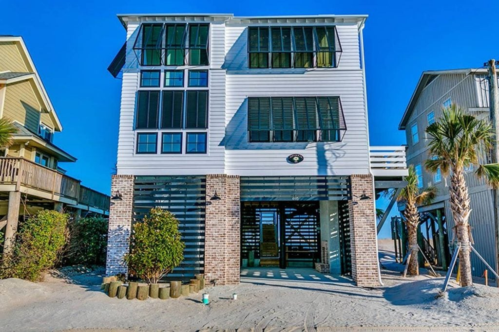 Vacation home on Pawley's Island in South Carolina.