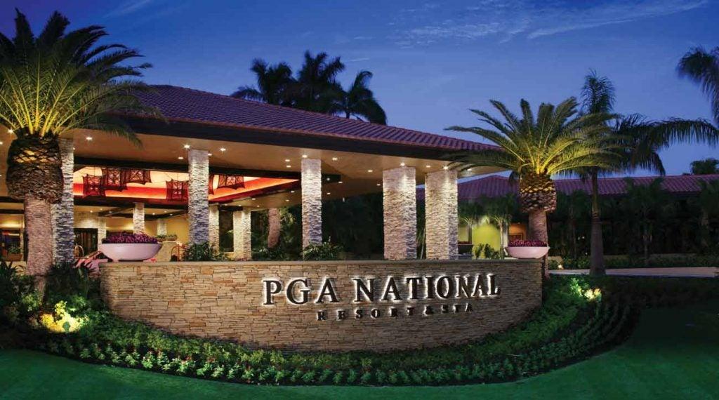 An exterior view of PGA National Resort & Spa.