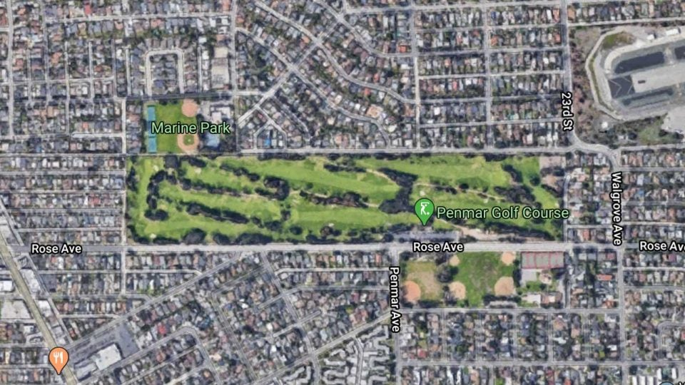 Penmar Golf Course is tucked into a Venice, Calif. neighborhood.