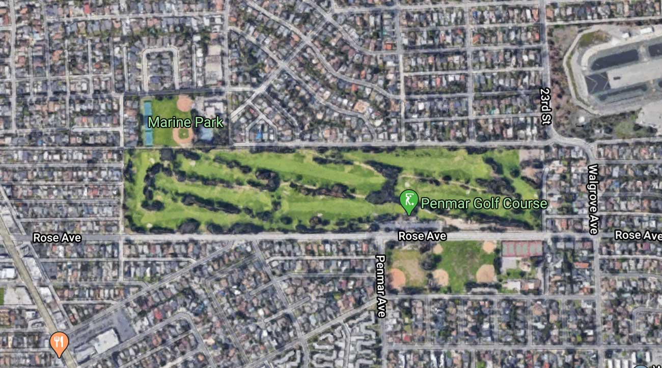 Exploring the golf course where Harrison Ford crash-landed his plane
