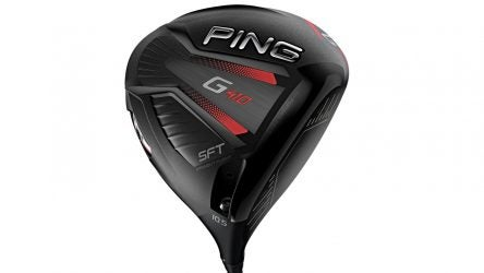 PING G410 SFT driver.