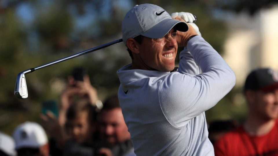 Rory McIlroy recently added two TaylorMade P760 irons (3-4) to the bag.