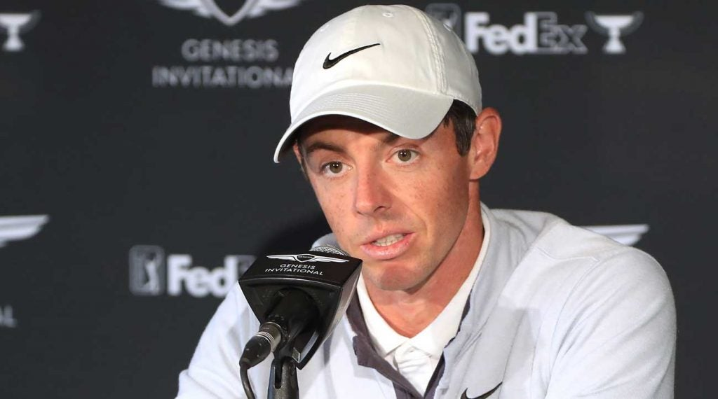 When it comes to the distance debate, Rory McIlroy is focused on golf's sustainability.