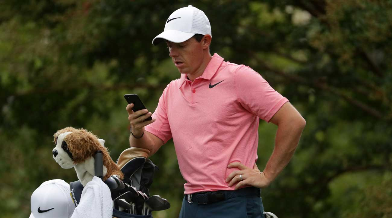 Here's the app Rory McIlroy uses to stay focused during big tournaments