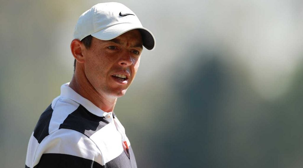Rory McIlroy made it clear that he's out on the proposed Premier Golf League.